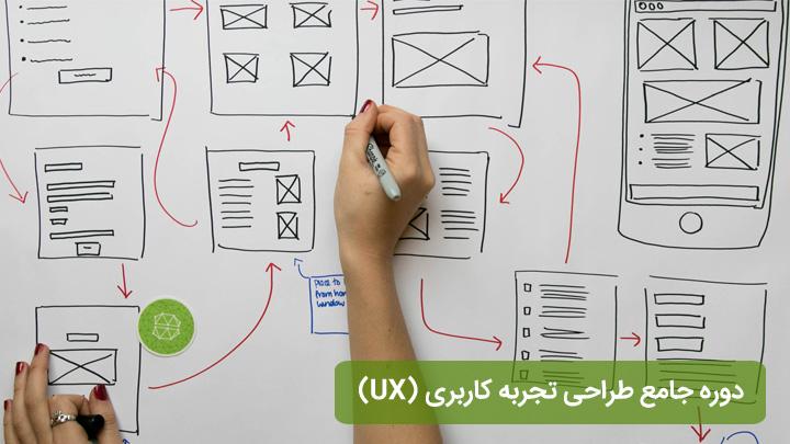 دوره تجربه کاربری (UX)